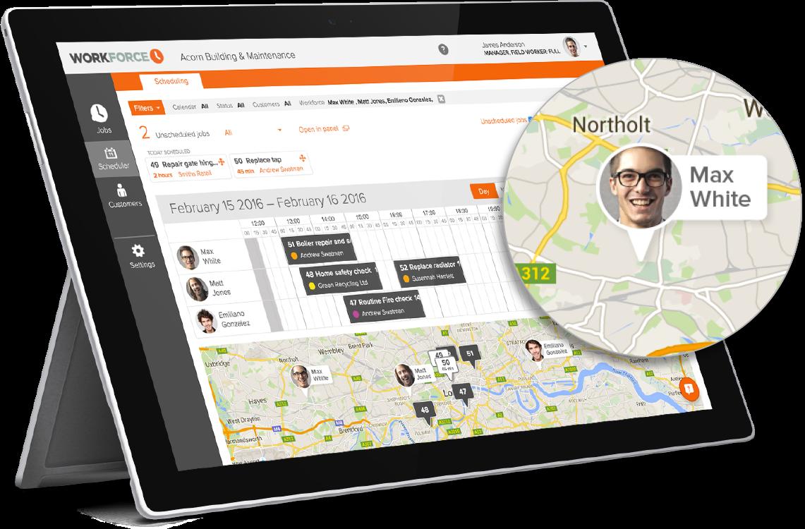 GPS Tracking- Workforce.FM