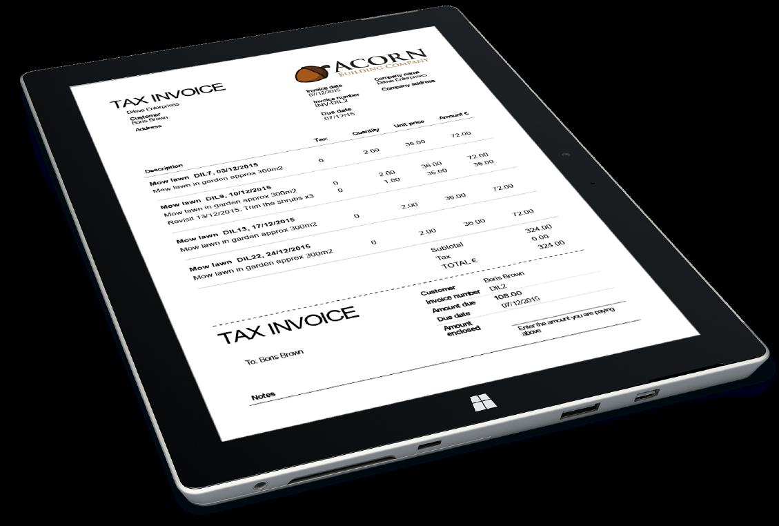 Invoicing - Workforce.FM