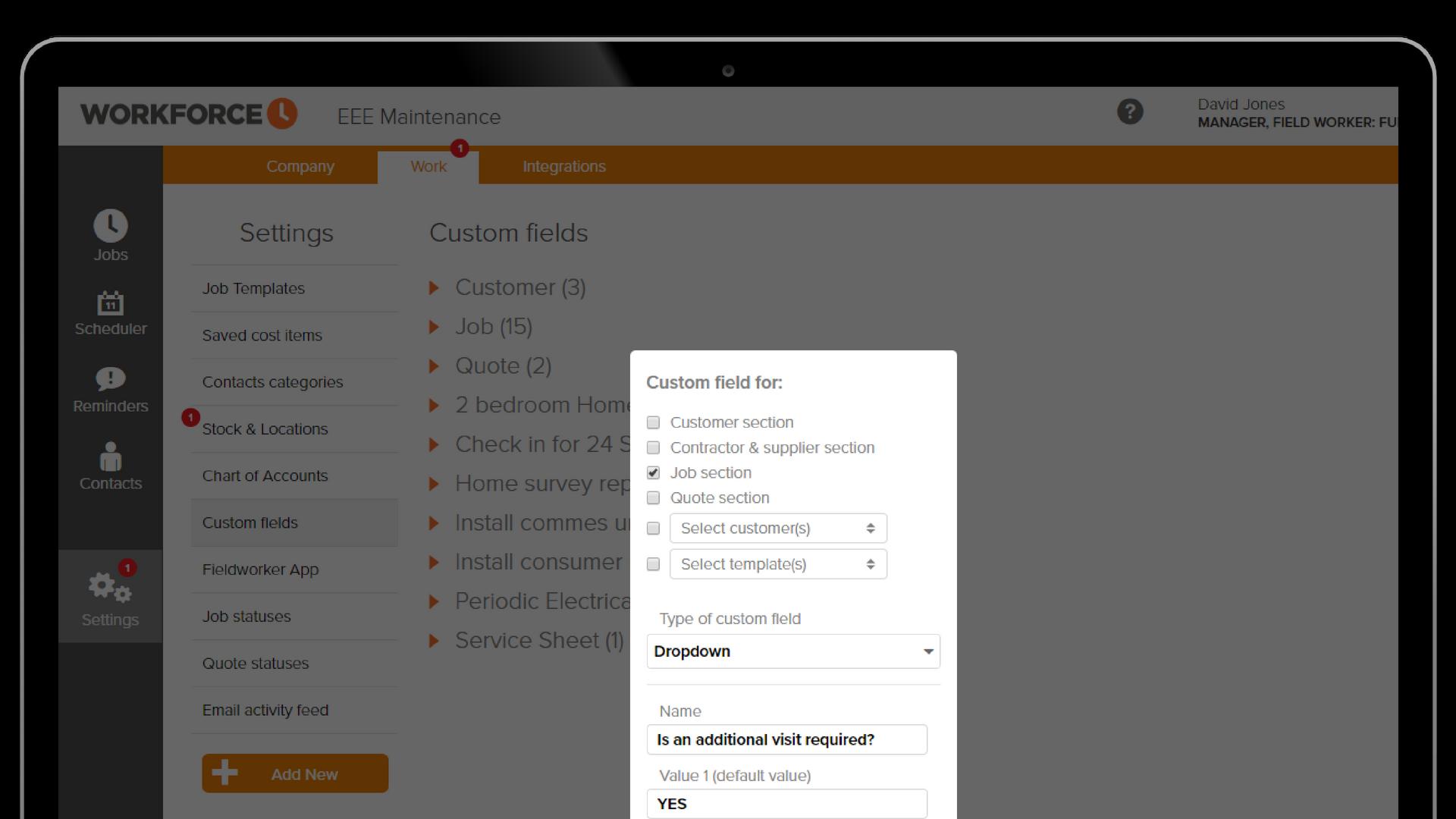 custom-fields-section-screen