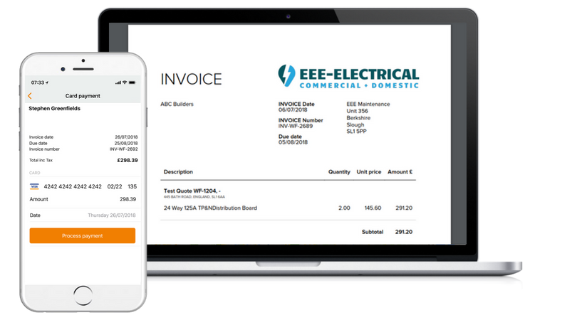 Invoicing Software - Field Service Management Workforce