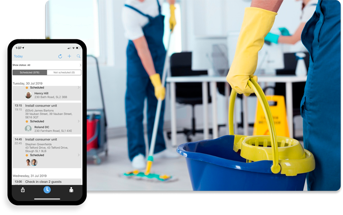 Cleaning Company Software | Field Management Software for Cleaning Companies Workforce