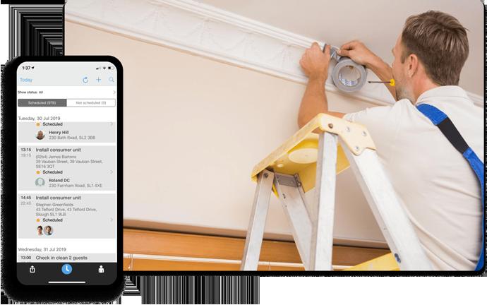 Software for Handymen | Software for Tradesmen Workforce