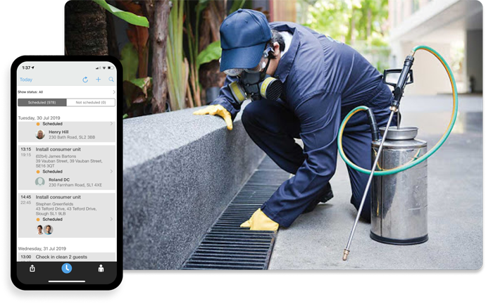 Pest Control Software | Software for Pest Control Companies Workforce